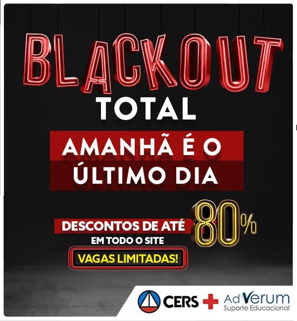 Blackout até 26/11