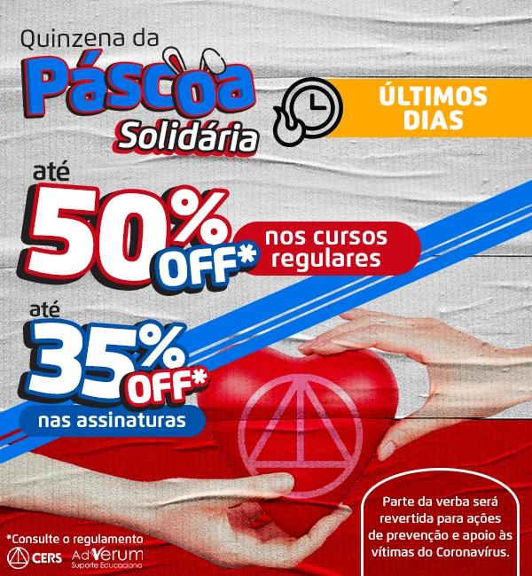Promoção: Páscoa Solidária