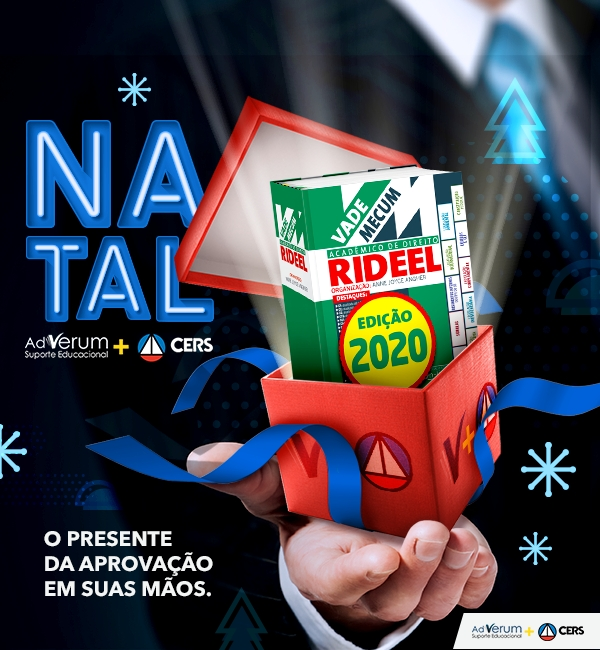 Promoção: Natal CERS + Ad Verum