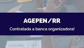CONCURSO AGEPEN/RR (27/05/2020): Contratada a banca organizadora!