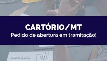 CONCURSO CARTÓRIO/MT (27/03/2020): Pedido de abertura em tramitação!