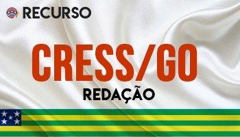 Recurso   Concurso   Conselho Regional de Serviço Social de Goiás (CRESS/GO)
