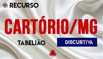 Recurso   Concurso   Cartório/MG