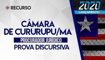 Recurso | Concurso | Procurador da Câmara de Cururupu/MA