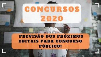 Concursos 2020: previsão dos próximos editais para concurso público!