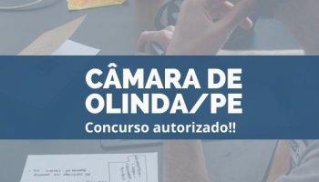 CONCURSO CÂMARA DE OLINDA/PE (20/12/2019): Concurso autorizado!!