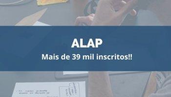 CONCURSO PARA ALAP (15/01/2020): Mais de 39 mil inscritos!!
