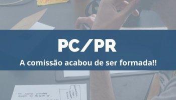 CONCURSO PC/PR (23/12/2019): Comissão formada!!
