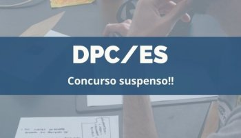CONCURSO DPC/ES (02/02/2020): Concurso suspenso!!