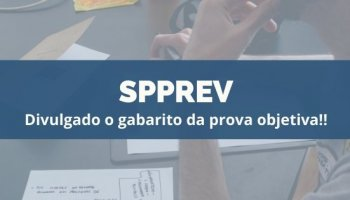 CONCURSO SPPREV (18/12/2019): Divulgado o gabarito da prova objetiva!!