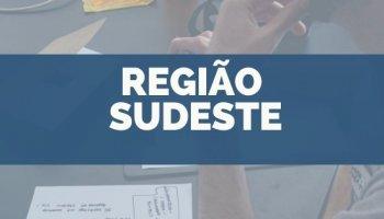 CONCURSOS NA REGIÃO SUDESTE