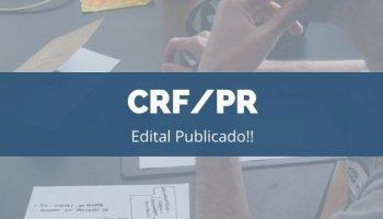 CONCURSO CRF/PR (20/11/2019): Edital Publicado!!