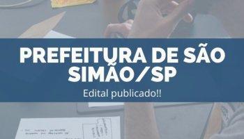 CONCURSO PREFEITURA DE SÃO SIMÃO/SP (21/11/2019): Edital Publicado!!