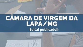 CONCURSO CÂMARA DE VIRGEM DA LAPA/MG (27/11/2019): Edital publicado!!