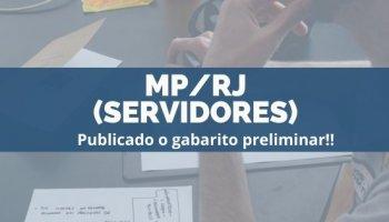CONCURSO MP/RJ (Servidores) (27/11/2019): publicado o gabarito preliminar!!