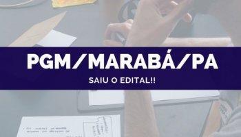 CONCURSO PGM/MARABÁ/PA (09/10/2019): Saiu o edital!!
