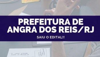 CONCURSO PREFEITURA DE ANGRA DOS REIS/RJ (09/10/2019): Saiu o edital!!