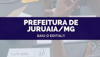 CONCURSO PREFEITURA DE JURUAIA/MG (21/10/2019): Saiu o edital!!