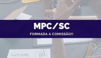 CONCURSO MPC/SC (02/10/2019): Formada a comissão!!