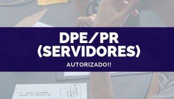 CONCURSO DPE/PR (Servidores) (03/10/2019): Autorizado o concurso!!