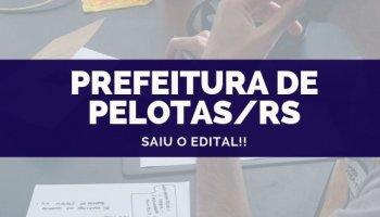CONCURSO DA PREFEITURA DE PELOTAS/RS (04/10/2019)