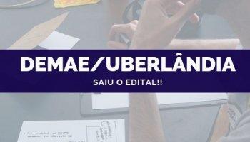 CONCURSO DMAE/Uberlândia (07/10/2019): Saiu o edital!!