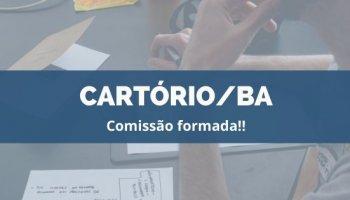 CONCURSO CARTÓRIO/BA (09/12/2019): Comissão formada!!