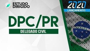 Curso | Concurso DPC PR | Delegado de Polícia | 1ª Fase | Estudo Dirigido