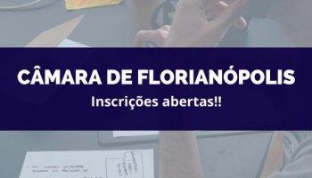 CONCURSO CÂMARA DE FLORIANÓPOLIS (19/02/2020): Inscrições abertas!!