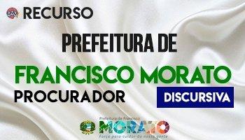 Recurso | Concurso | Procurador da Prefeitura de Francisco Morato