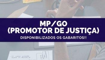 CONCURSO MP/GO (Promotor de Justiça) (21/10/2019): Disponibilizados os gabaritos!!