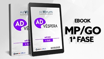 eBook | MP/GO - 1ª Fase: Ad Véspera