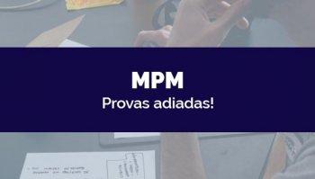 CONCURSO DO MINISTÉRIO PÚBLICO MILITAR (MPM) (19/03/2020): Provas adiadas!