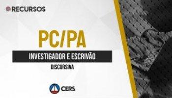 Recurso | Concurso | Investigador e Escrivão da Polícia Civil do Pará (PC/PA) | Discursiva