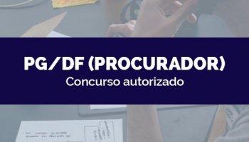 CONCURSO PG/DF (Procurador) (06/05/2020): Concurso autorizado