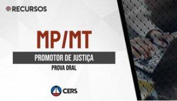 Recurso | Concurso | Promotor de Justiça da Paraíba (MP/MT) (PROVA ORAL)