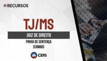 Recurso | Concurso | Juiz de Direito do Mato Grosso do Sul (TJ/MS) | Sentença (COMBO)