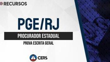 Recurso | Concurso | Procurador do Rio de Janeiro (PGE/RJ) | Discursiva
