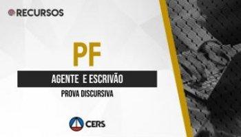 Recurso | Concurso | Agente e Escrivão da Polícia Federal (PF) | Redação