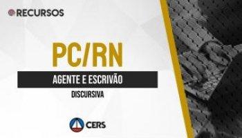 Recurso | Concurso | Agente e Escrivão da Polícia Civil do Pará (PC RN) | Discursiva