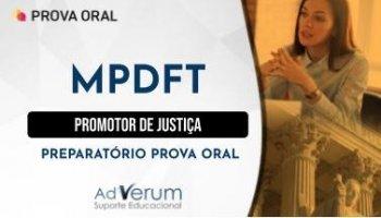 Curso   Concurso MPDFT   Promotor de Justiça   Preparatório Prova Oral