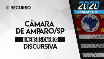 Recurso | Concurso | Câmara de Amparo/SP | Prova Discursiva