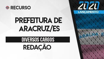 Recurso   Concurso   Prefeitura de Aracruz