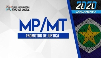 Curso Preparatório Prova Oral | Concurso MP MT