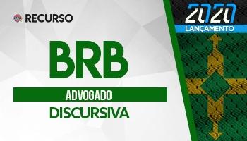 Recurso   Concurso   Advogado do Banco de Brasília (BRB)
