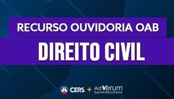 Recurso | Ouvidoria | OAB | Direito Civil