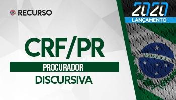 Recurso | Concurso | Procurador do Conselho Regional de Farmácia | Prova Discursiva
