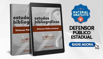 Sugestão Bibliográfica Defensor Público Estadual - saiba os melhores materiais para Defensor!
