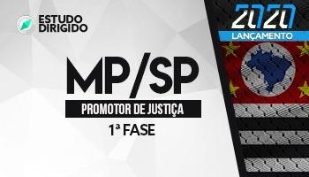 Curso | Concurso MPSP | Promotor de Justiça | 1ª Fase | Estudo Dirigido