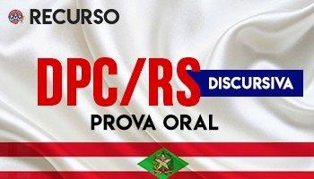 Recurso   Concurso   Delegado da Polícia Civil do Rio Grande do Sul (DPC/RS) (PROVA ORAL)